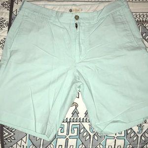 J. Crew light blue men's shorts size 33